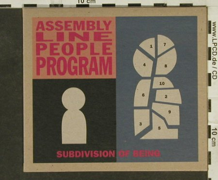Assembly Line People Program: Subdivision of Being,Digi, Transcopic Records(), UK, 1998 - CD - 50741 - 10,00 Euro