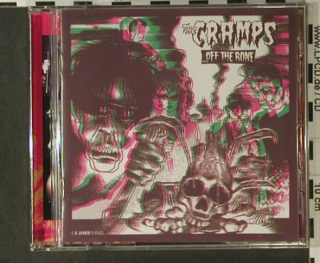 Cramps: Off The Bone, Zonophone(93837 2), EU, 1987 - CD - 50821 - 7,50 Euro