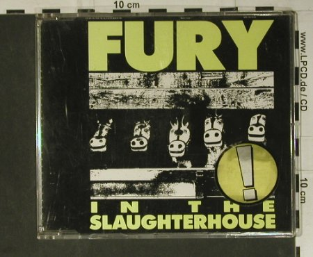 Fury In The Slaughterhouse: Kick It Out+3, 1st(), A, 1989 - CD3inch - 50914 - 4,00 Euro