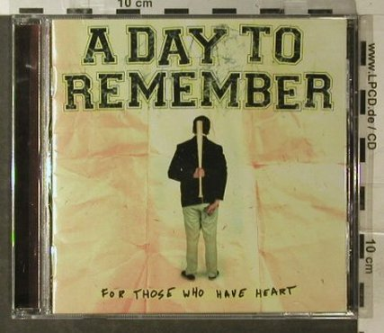 A Day to Remember: For Those Who Have Heart, Promo, Victory(VR337), US, co, 2007 - CD - 51009 - 5,00 Euro