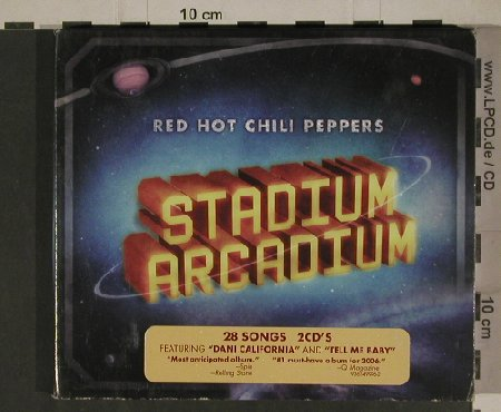 Red Hot Chili Peppers: Stadium Arcadium, Digi, WB(49996-2), EU, 2006 - 2CD - 51368 - 7,50 Euro