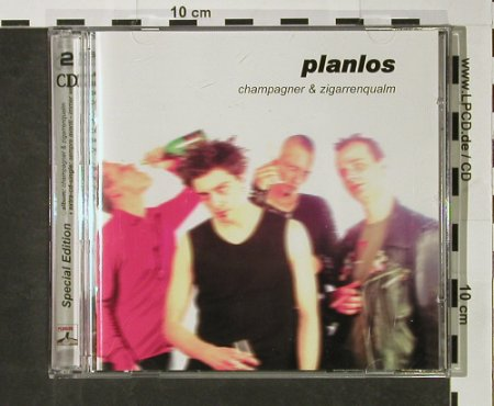 "Planlos: Champagner & Zigarrenqualm, Supermusic(), EU, 2002 - CD+5"" - 51635 - 7,50 Euro"