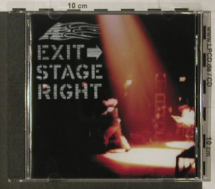 A: Exit Stage Right, 8Tr., London(), UK, 2000 - CD - 51801 - 5,00 Euro