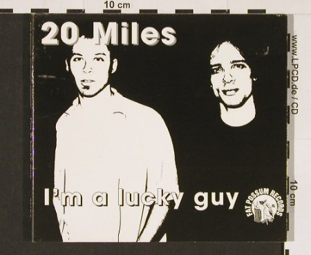 20 Miles: I'm A Lucky Guy, Digi, Epitaph(), , 1998 - CD - 52237 - 5,00 Euro