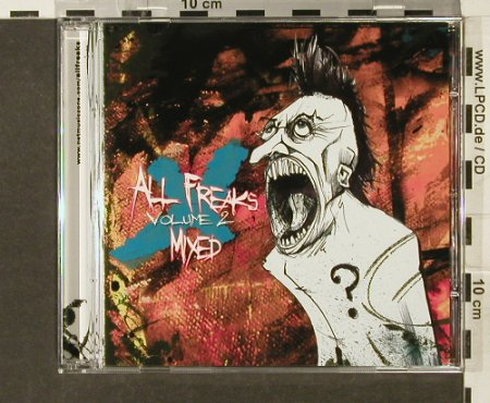 V.A.All Freaks: Mixed, Vol.2, NetMusicZone(), Promo,14Tr, 2005 - CD - 52408 - 5,00 Euro