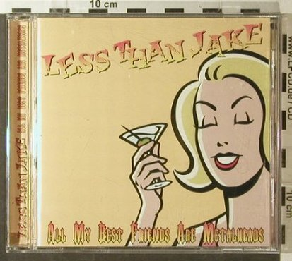 Less Than Jake: All My Best Friends Are Metalheads, Golf(CDSHOLE027), UK , 3 Tr., 2000 - CD5inch - 52908 - 3,00 Euro