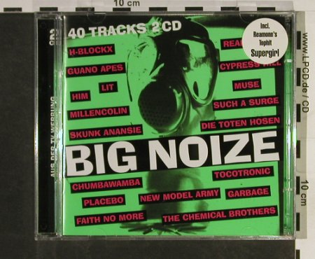 V.A.Big Noize: 40 Tr., Reamon...Faith No More, EMI(), EU, 1988 - 2CD - 53143 - 7,50 Euro