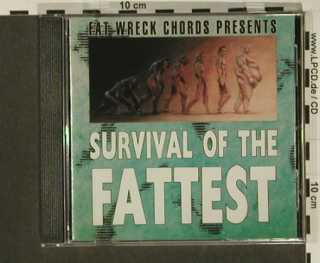 V.A.Survival Of The Fattest: 17Tr.., Fat Wreck(), ,  - CD - 53579 - 5,00 Euro