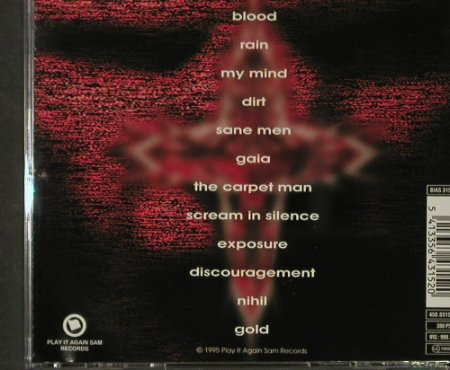 Nerve: Blood & Gold, Play it ag(), , 1995 - CD - 53666 - 7,50 Euro