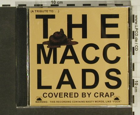 Macc Lads - A Tribute to: Covered by Crap, V.A., Kotumba(), , 2005 - CD - 54259 - 5,00 Euro