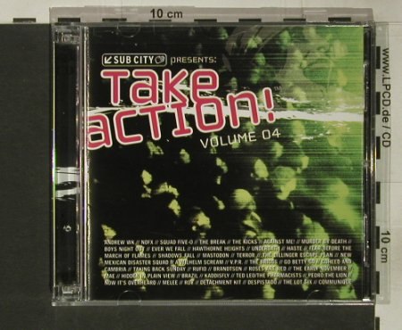 V.A.Take Action Volume 04: 41 Tr., co, Subcity Rec.(), US, 2004 - 2CD - 54457 - 7,50 Euro