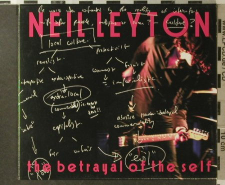 Leyton,Neil: The Betrayal Of The Self, Feed Back Boogie(FBRCD028), EU, 2006 - CD - 55254 - 10,00 Euro