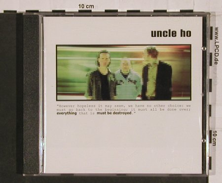 Uncle Ho: Everything Must Be Destroyed,Promo, Columb.(), A, 03 - CD - 55874 - 7,50 Euro