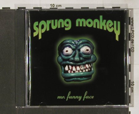 Sprung Monkey: Mr.Funny Face, Hollywood(), D, 98 - CD - 56356 - 4,00 Euro