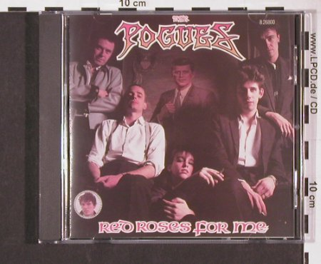 Pogues: Red Roses For Me(84), Upfront(8.26800 ZP), D, 1988 - CD - 57130 - 7,50 Euro
