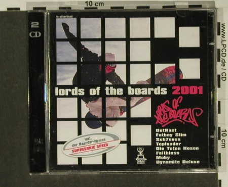 V.A.Lords Of The Boards 2001: 40 Tr., Ariola(), D, 00 - 2CD - 57736 - 5,00 Euro