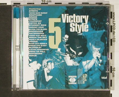 V.A.Victory Style 5: 23 Tr., co, Victory(), US, 2002 - CD - 57959 - 5,00 Euro