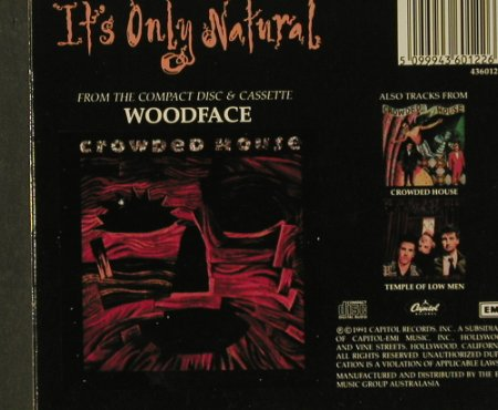 Crowded House: It's Only Natural+4,Digi, EMI(), AUS, 91 - CD5inch - 58593 - 2,50 Euro