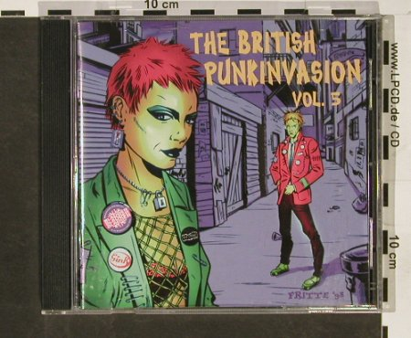 V.A.The British Punk Invasion: Vol.5, Gink...The Stains,, High Society Int.(HSI 13), D, 1998 - CD - 58732 - 10,00 Euro