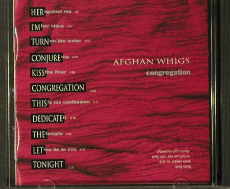 Afghan Whigs: Congregation, WB(28/183), D, 1992 - CD - 59212 - 7,50 Euro