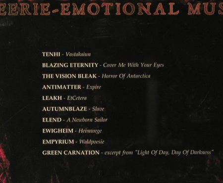 V.A.Eerie Emotional Music: A Label Compilation,10 Tr., prophecy(PRO070), , 2004 - CD - 59316 - 4,00 Euro