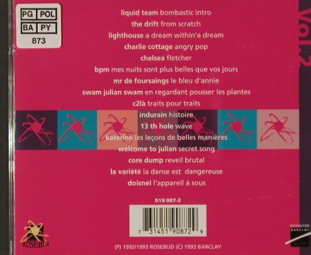 V.A.Rosebud: The Great Collection Vol.2, Rosebud(), F, 1993 - CD - 60339 - 5,00 Euro