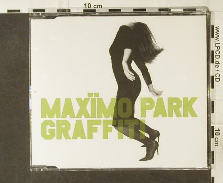 Maximo Park: Graffiti/Trial and Error, Warp(WAP187cd), D, 2005 - CD5inch - 60518 - 2,50 Euro