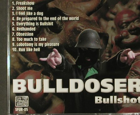 Bulldoser: Bullshot, Stay Free Underground Re(sfur-05), SF,  - CD - 61498 - 4,00 Euro