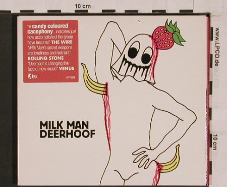Deerhoof: Milk Man, Digi, ATP/Recordings(ATPRcd 9), UK, 2004 - CD - 61826 - 10,00 Euro