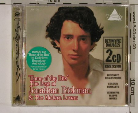 Richman,Jonathan & Modern Lovers: Home of the Hits-BestOf, Castle(), UK, 99 - 2CD - 62061 - 12,50 Euro