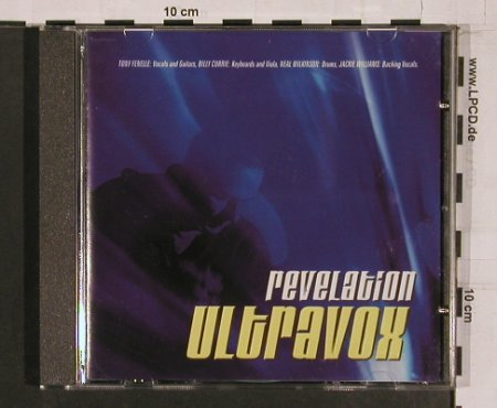 Ultravox: Revelation, Puzzle(), UK, 03 - CD - 62669 - 7,50 Euro
