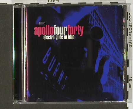 Apollo Fourfourty: Electro Glide In Blue, Stealth(), UK, 97 - CD - 63530 - 7,50 Euro