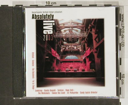 V.A.Absolutely Live 2003: 14 Tr. Lim Ed.(793of1.500), Almaviva(AR008), , 03 - CD - 63802 - 10,00 Euro