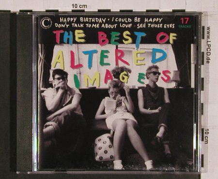 Altered Images: The Best Of, 17Tr., Connoiss.(), UK, 1992 - CD - 64426 - 7,50 Euro