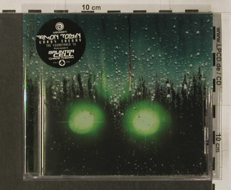 Amon Tobin: Chaos Theory-Splinter Cell 3, Ninja Tune(ZENcd100), UK, 2005 - CD - 64508 - 10,00 Euro