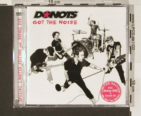 Donots: Got the Noise, Lim.Ed., Gun(), EU, 04 - CD/DVD - 64833 - 12,50 Euro