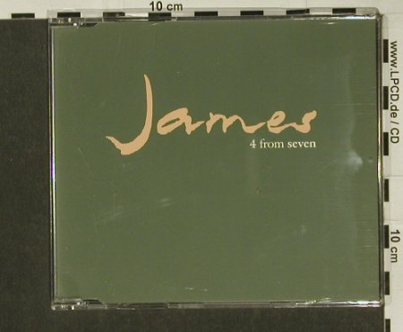 James: 4 From Seven, 4 Tr.Promo, Fontana(4 FRM 7), UK, 92 - CD5inch - 65516 - 2,50 Euro