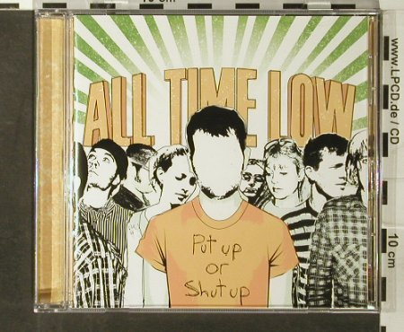 All Time Low: Put Up Or Shut Up, 7Tr., Hopeless(), US, co, 2006 - CD - 65666 - 5,00 Euro