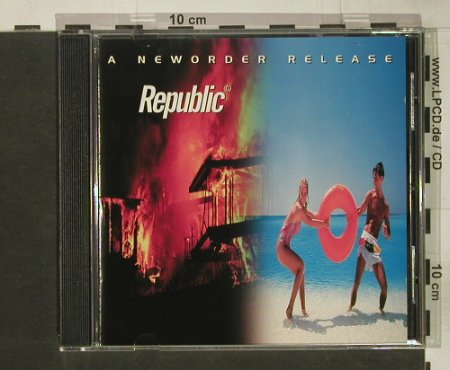 New Order: Republic, Centredate(), UK, 1993 - CD - 65715 - 10,00 Euro