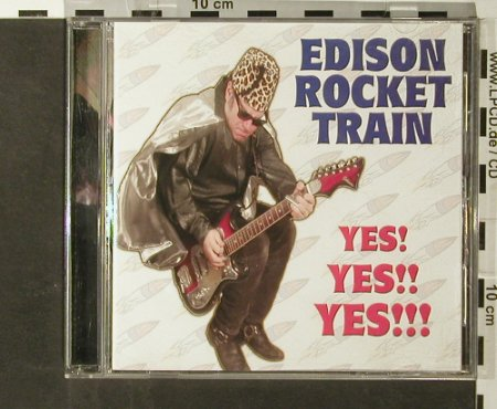 Edison Rocket Train: Yes! Yes!! Yes!!, Steel Cage Rec.(), US, 2003 - CD - 65890 - 7,50 Euro
