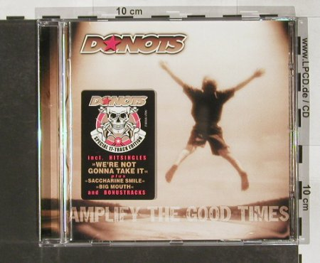 Donots: Amplify The Good Times,17 Tr., Gun(), EU, 02 - CD - 65938 - 10,00 Euro