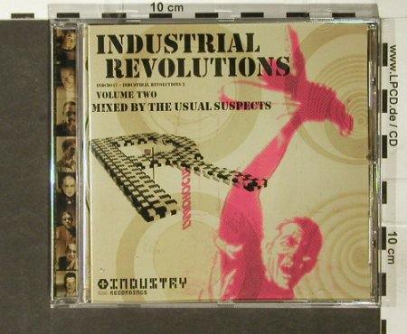 V.A.Industrial Revolutions 2: Mixed by the Usual Suspects, Industrie Rec.(), UK, 2003 - CD - 66735 - 5,00 Euro