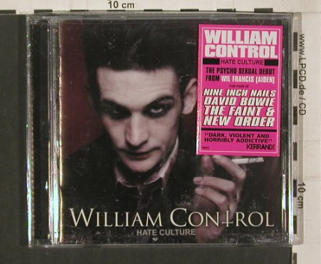 William Control: Hate Culture, FS-New, Victory(VR472), US, 2008 - CD - 80085 - 7,50 Euro