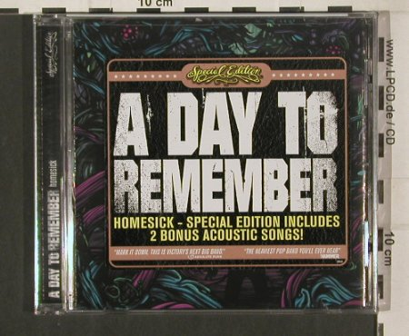 A Day to Remember: Homesick, FS-New, Victory(VR541), US, 2009 - CD - 80149 - 10,00 Euro