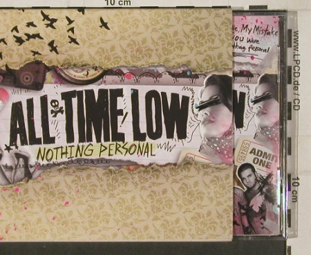 All Time Low: Nothing Personal, Hopeless(HR 710-2), , co, 2009 - CD - 80181 - 7,50 Euro