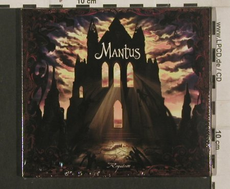 Mantus: Requiem, Digi, FS-New, Trisol(TRI 304 cd), EU, 2009 - CD - 80196 - 10,00 Euro