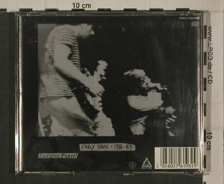 Sonic Youth: Sonic Death(early sonic,1Tr.(68:02), Blast First(BFFP 32cd), UK, 1988 - CD - 80379 - 10,00 Euro
