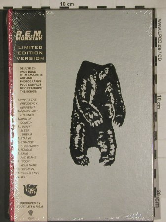 R.E.M: Monster. Lim.Ed.Version,52 pageBook, WB(9362-45763-2), D,FS-New, 1994 - CD - 80471 - 20,00 Euro
