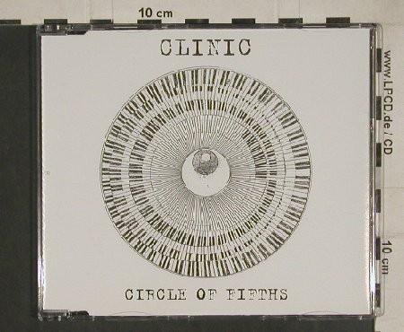 Clinic: Circle of Fifths+2, Domino(RUG182CD), EU, 2004 - CD5inch - 80495 - 2,50 Euro