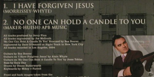 Morrissey: I Have Forgive Jesus, 2Tr. , CD1, Attack(ATKXS011), EU, 2004 - CD5inch - 80503 - 4,00 Euro